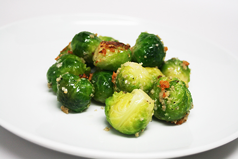 Breaded Brussels Sprouts