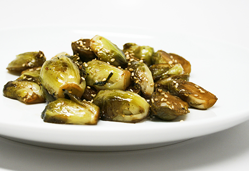 Sesame Brussels Sprouts