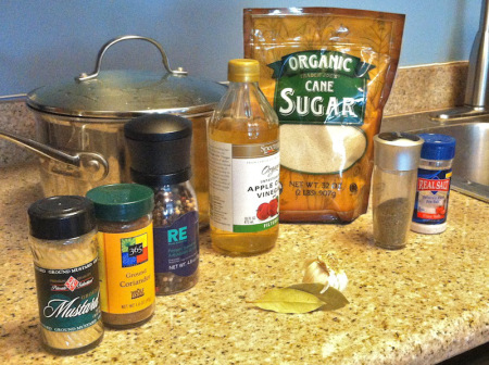 pickle brine ingredients